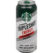 Starbuck's TripleShot Energy Dark Roast Energy Coffee Drink
