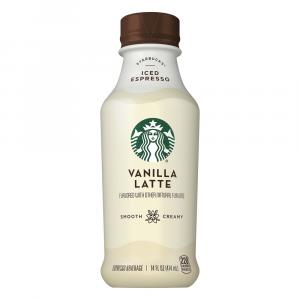 Starbucks Vanilla Latte Iced Espresso