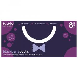 Bubly Blackberry Sparkling Water