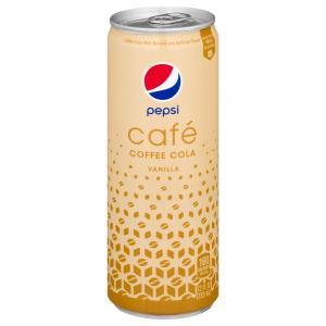 Pepsi Cafe Vanilla Coffee Cola