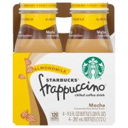Starbucks Frappuccino Almondmilk Mocha Coffee Drink