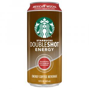 Starbucks Doubleshot Mexican Mocha Energy Coffee Beverage