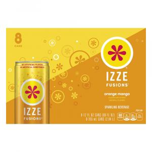 Izze Fusions Orange Mango