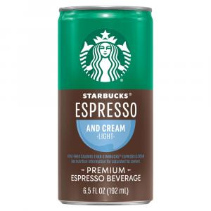 Starbucks Doubleshot Espresso & Light Cream