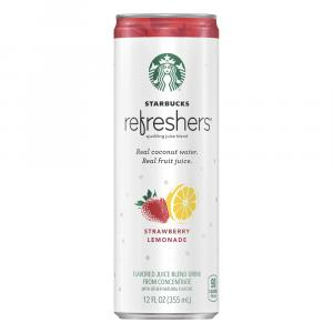 Starbucks Refreshers Strawberry Lemonade Sparkling Juice