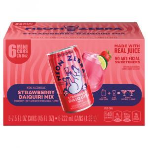 Neon Zebra Strawberry Daiquiri Mix