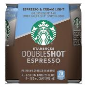 Starbucks Light Doubleshot Espresso
