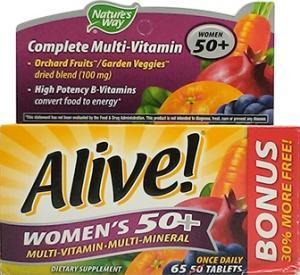 Nature's Way Alive Woman's 50+ Multi-Vitamin