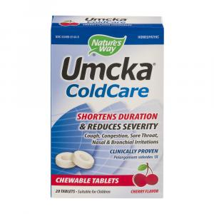 Nature's Way Umcka Coldcare Cherry Chewable
