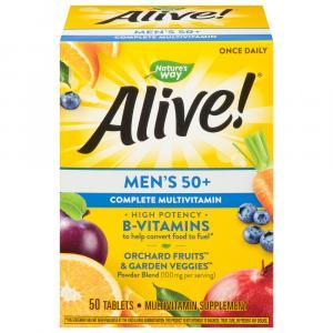Nature's Way Alive! Men's 50+ Complete Multivitamin