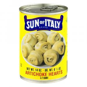 Sun of Italy Artichoke Hearts