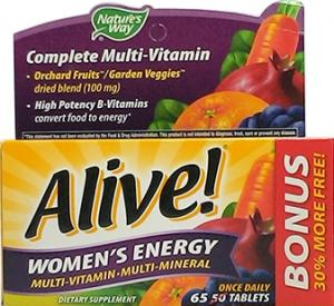 Nature's Way Alive Women's Energy Multi-Vitamin
