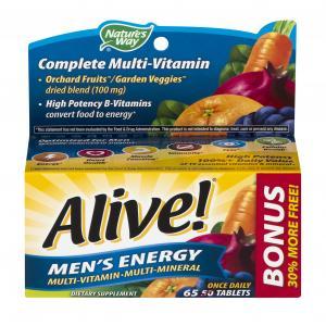 Nature's Way Alive Men's Energy Multi-Vitamin