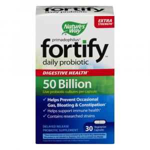 Fortify Daily Probiotic Capsules