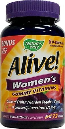 Nature's Way Alive Women's Gummy Vitamins