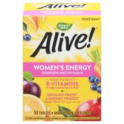 Nature's Way Alive! Women's Energy Complete Multivitamin
