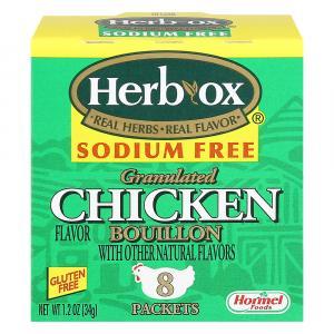 Herb-Ox Sodium Free Chicken Broth