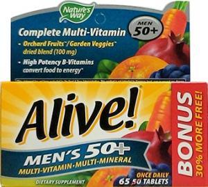 Nature's Way Alive Men's 50+ Multi-vitamin