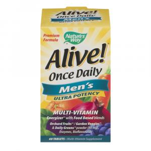 Nature's Way Alive Ultra Potency Men's Multi-vitamin