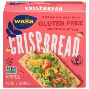 Wasa Gluten Free Sesame & Sea Salt Crispbread