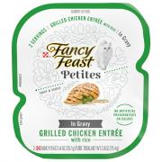 Fancy Feast Petites in Gravy Grilled Chicken Entree