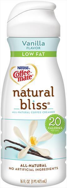 Nestle Coffee-mate Natural Bliss Low Fat Vanilla Creamer