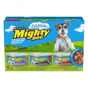 Mighty Dog Roasted Dog Food Variety Pack