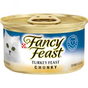 Fancy Feast Chunky Turkey Canned Cat Food