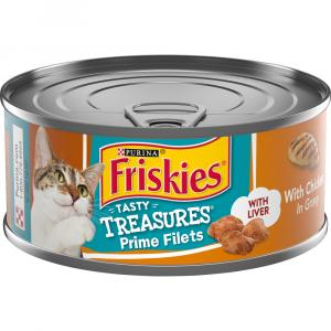 Friskies Tasty Treasures with Chicken in Gravy with Liver