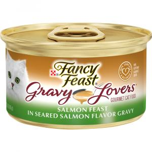 Fancy Feast Gravy Lovers Salmon