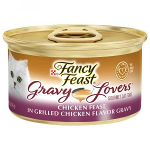 Fancy Feast Gravy Lovers Grilled Chicken Flavor