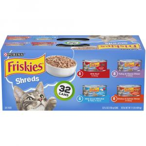 Friskies Savory Shreds Variety Pack
