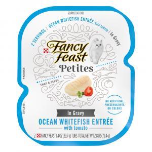 Fancy Feast Petites Ocean Whitefish Entree In Gravy