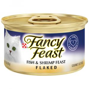 Fancy Feast Flaked Fish & Shrimp Canned Cat Food