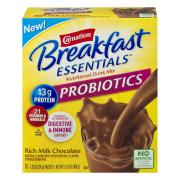 Carnation Breakfast Essentials Probiotics Milk Chocolate