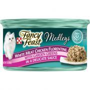 Fancy Feast Elegant Medley Chicken Florentine Can Cat Food