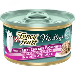 Fancy Feast Elegant Medley Chicken Florentine Can Cat Food