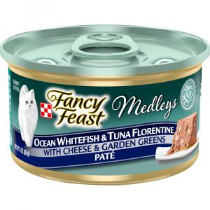 Fancy Feast Elegant Medleys Whitefish & Tuna Florentine