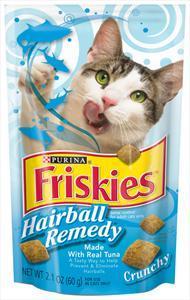 Friskies Crunchy Hairball Remedy Cat Treats