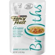 Fancy Feast Broths Classic With Chicken and Vegetables