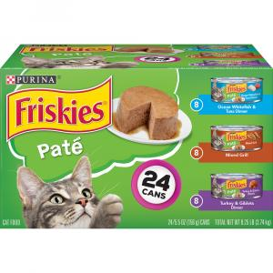 Friskies Pate Variety Pack Canned Cat Food