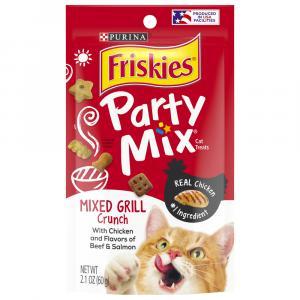 Friskies Mixed Grill Party Cat Treats