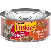 Friskies Prime Filet Chicken & Tuna Canned Cat Food