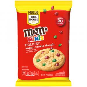 Nestle Toll House M&M Holiday Cookie Dough