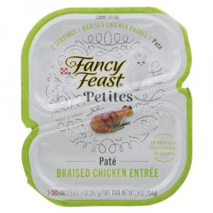 Fancy Feast Petites Braised Chicken Entree Pate