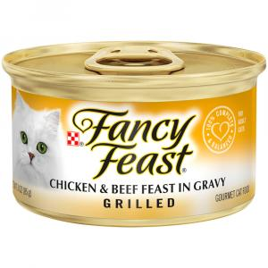 Fancy Feast Grilled Chicken & Beef Canned Cat Food