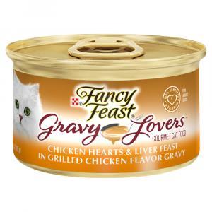Fancy Feast Gravy Lovers Chicken Hearts & Liver Feast