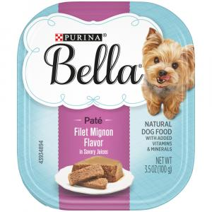 Purina Bella Filet Mignon Savory Flavor Dog Food