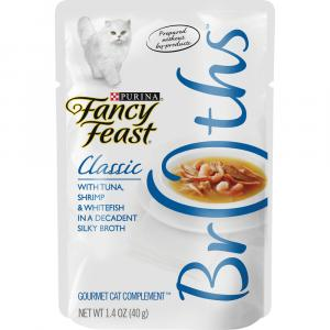 Fancy Feast Broths Classic Tuna, Shrimp and Whitefish
