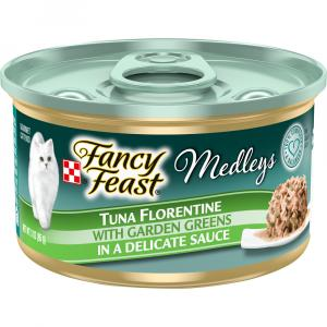 Fancy Feast Elegant Medley Yellow Fin Tuna Florentine